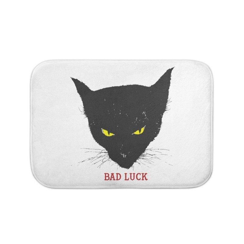 bad luck Home Bath Mat by Brimstone Designs