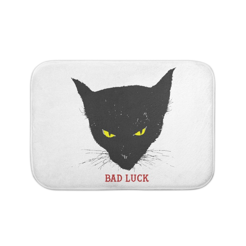 bad luck Home Bath Mat by Brimstone Designs