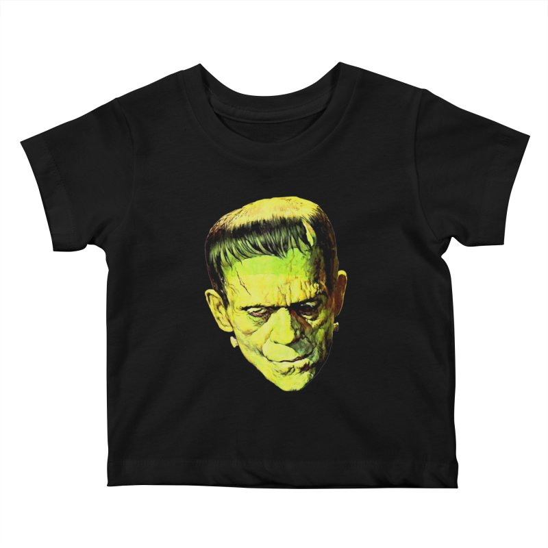 MONSTER Kids Baby T-Shirt by Brimstone Designs