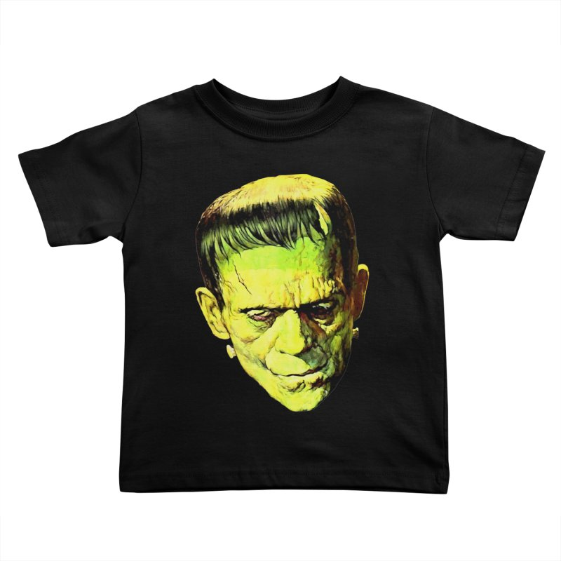 MONSTER Kids Toddler T-Shirt by Brimstone Designs