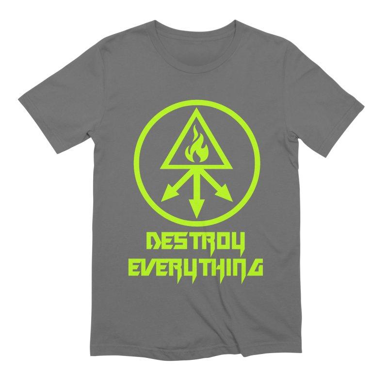 DESTROY EVERYTHING Men's Extra Soft T-Shirt by Brimstone Designs