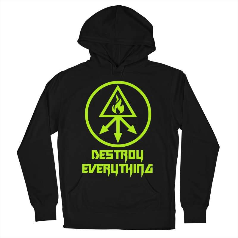 DESTROY EVERYTHING Women's French Terry Pullover Hoody by Brimstone Designs