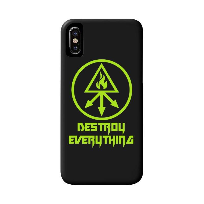 DESTROY EVERYTHING Accessories Phone Case by Brimstone Designs
