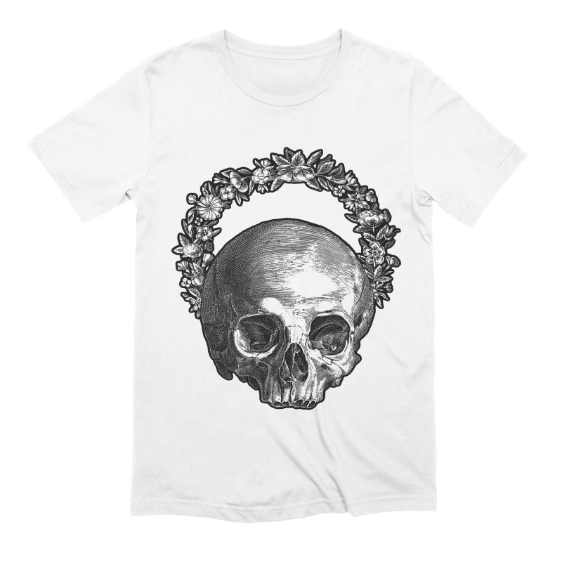 Memento mori Men's Extra Soft T-Shirt by Brimstone Designs