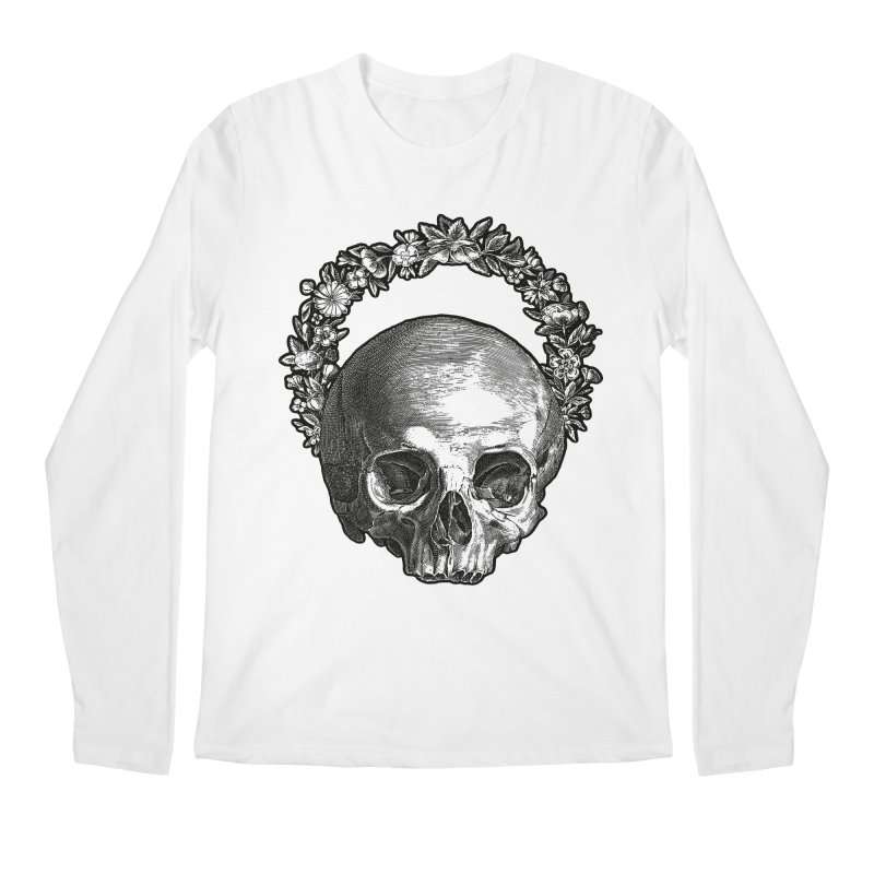 Memento mori Men's Regular Longsleeve T-Shirt by Brimstone Designs