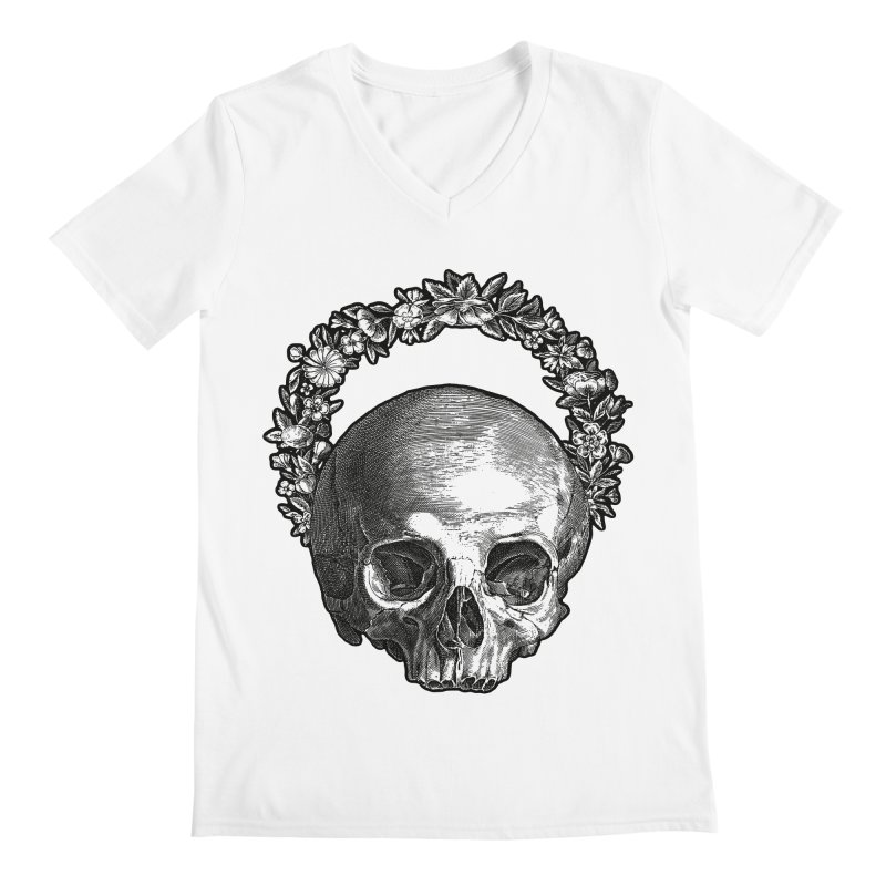 Memento mori Men's Regular V-Neck by Brimstone Designs