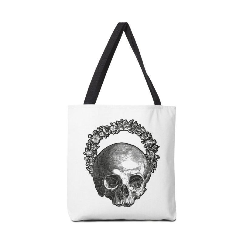 Memento mori Accessories Bag by Brimstone Designs