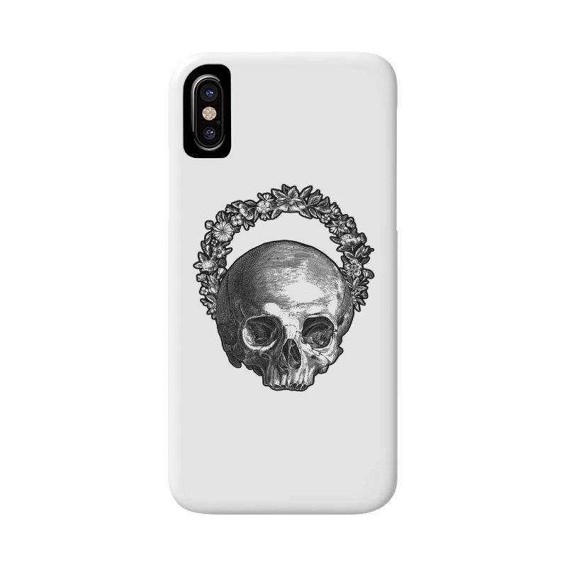 Memento mori Accessories Phone Case by Brimstone Designs