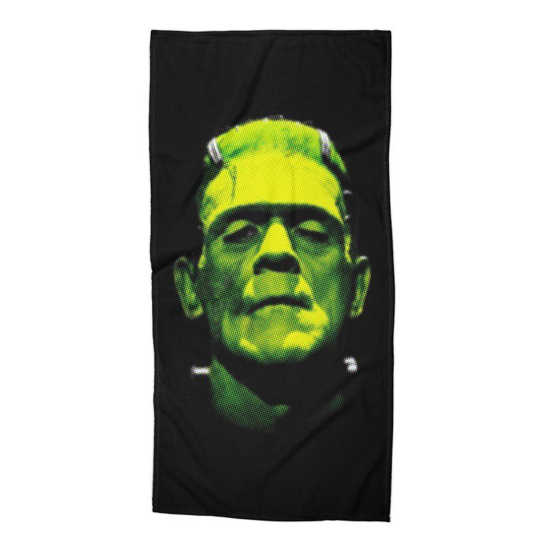 Pop Karloff Accessories Beach Towel by Brimstone Designs