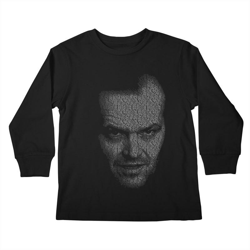 REDRUM Kids Longsleeve T-Shirt by Brimstone Designs
