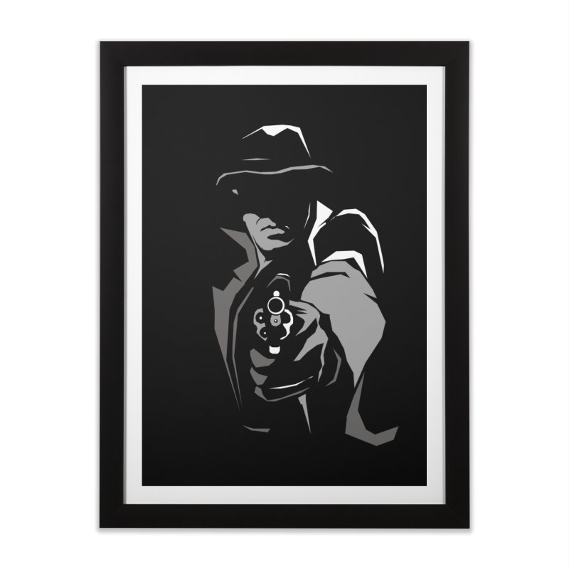 'Take A Load Off!' in Framed Fine Art Print Black by bristolnoir's Artist Shop