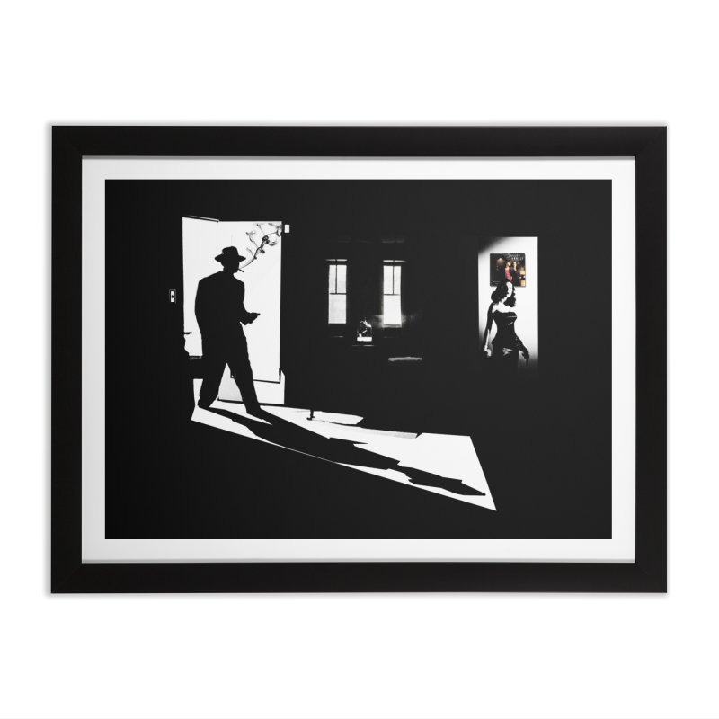 Fallen Angel in Framed Fine Art Print Black by bristolnoir's Artist Shop