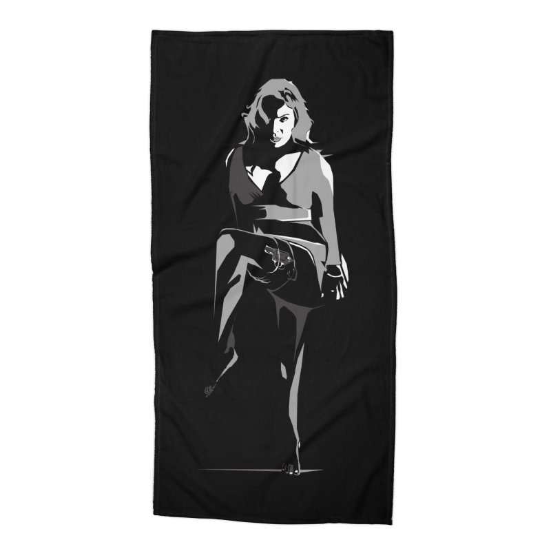 'A Little Something For You!' in Beach Towel by bristolnoir's Artist Shop