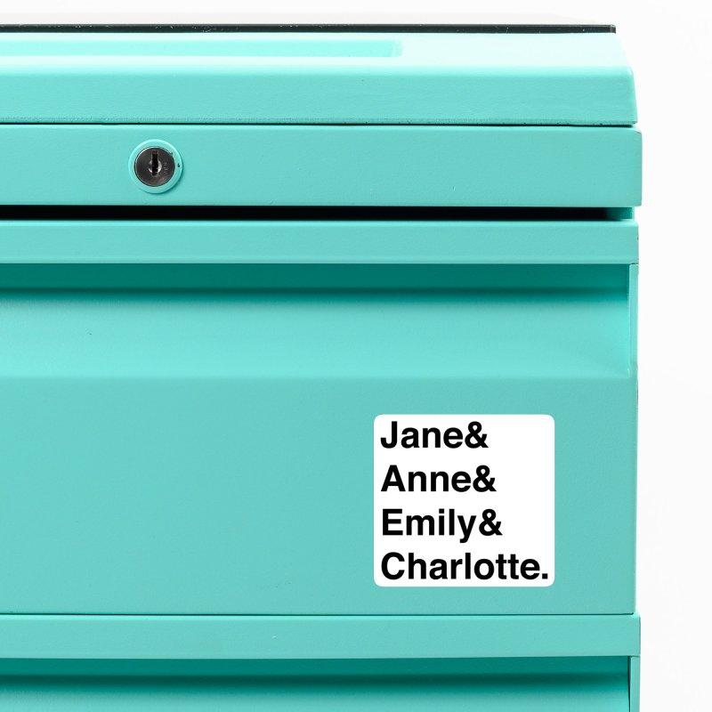 Brit Lit Ladies Accessories Magnet by britlitpodcast's Artist Shop