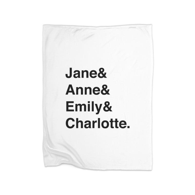 Brit Lit Ladies Home Blanket by britlitpodcast's Artist Shop
