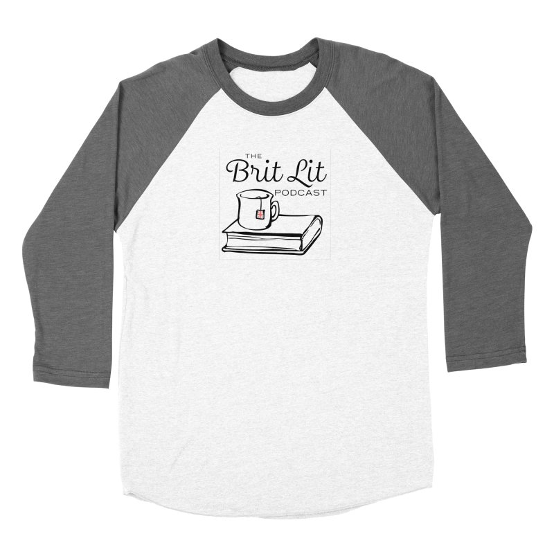 Brit Lit Podcast square Women's Longsleeve T-Shirt by britlitpodcast's Artist Shop