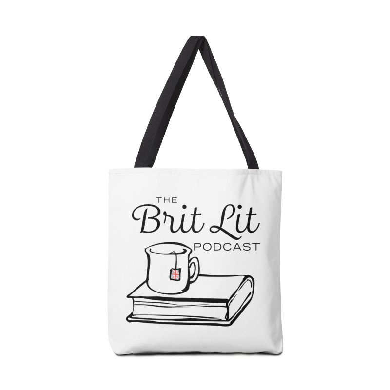 Brit Lit Podcast logo Accessories Tote Bag Bag by britlitpodcast's Artist Shop