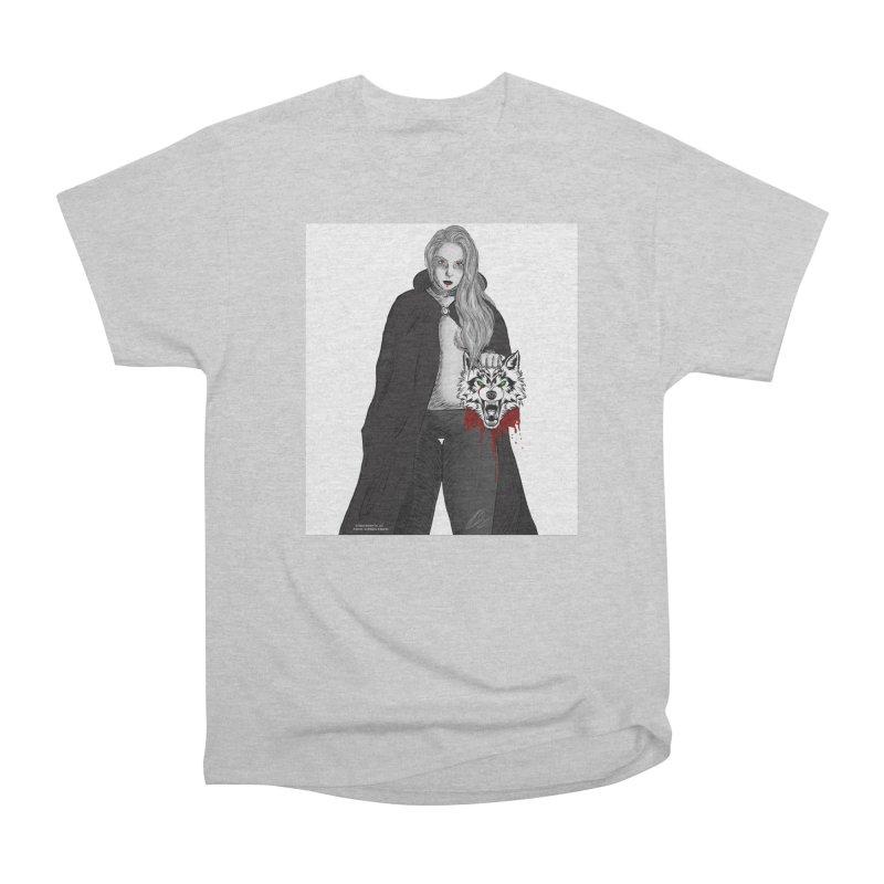 XWOLF in Women's Heavyweight Unisex T-Shirt Heather Grey by Shop   Dead Ramen®