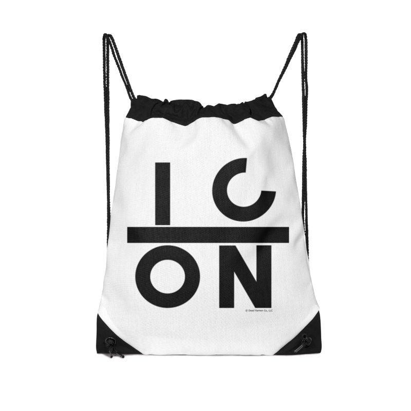 XICON Accessories Drawstring Bag Bag by Shop   Dead Ramen®