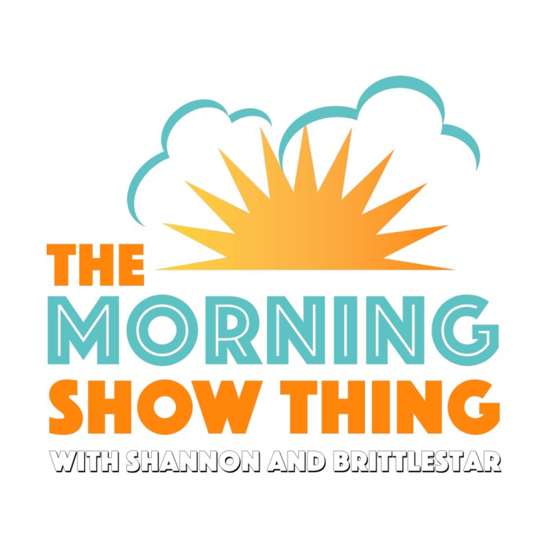 THE MORNING SHOW THING Men's T-Shirt by THE BRITTLESTORE