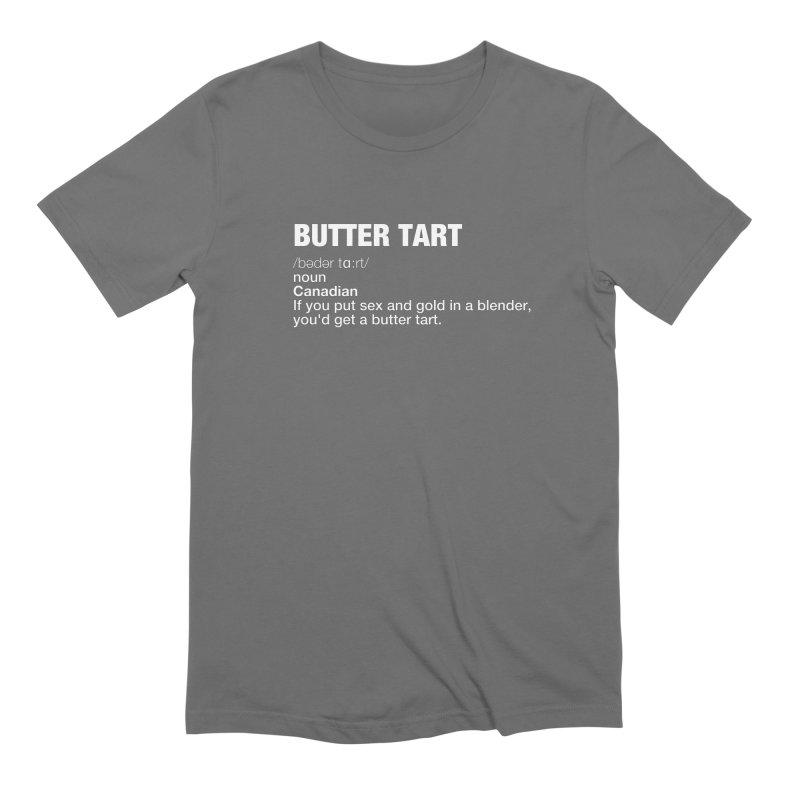 BUTTER TARTS Men's T-Shirt by THE BRITTLESTORE