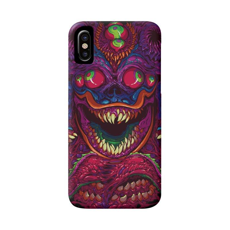 Hyper Demon in iPhone X / XS Phone Case Slim by brockhofer's Artist Shop