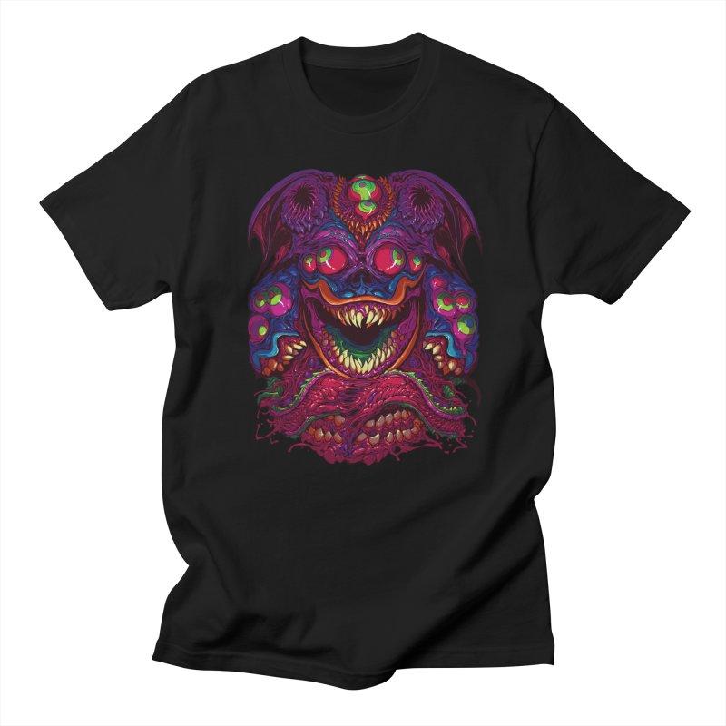 Hyper Demon in Men's Regular T-Shirt Black by brockhofer's Artist Shop