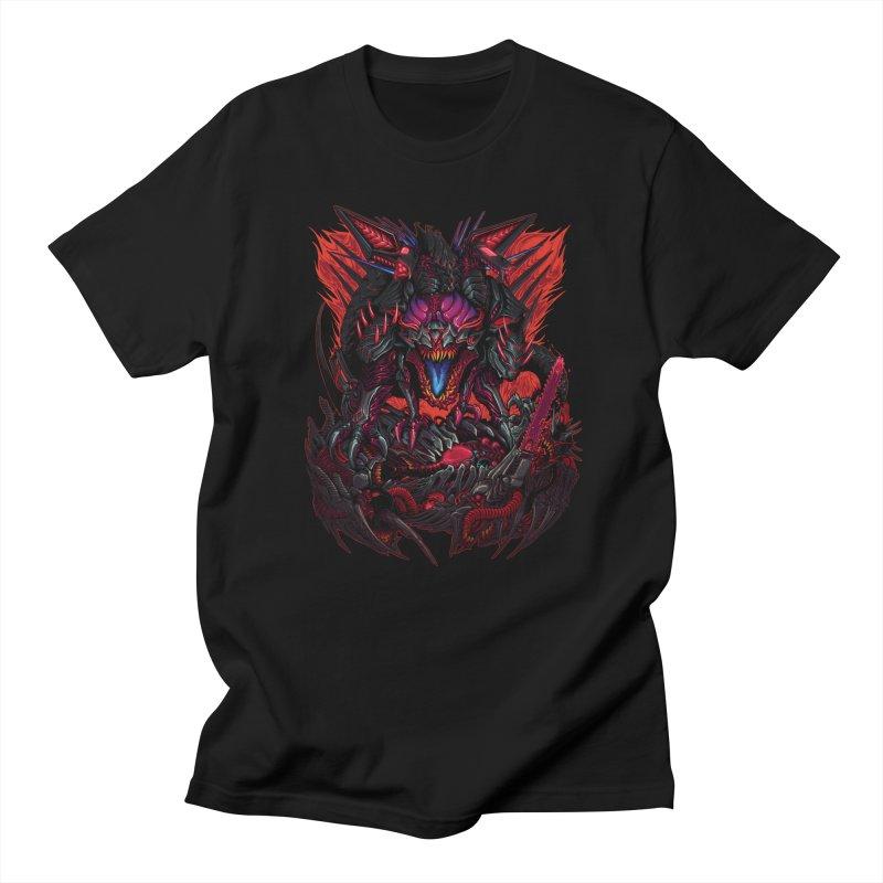 Cyber Rex in Men's Regular T-Shirt Black by brockhofer's Artist Shop