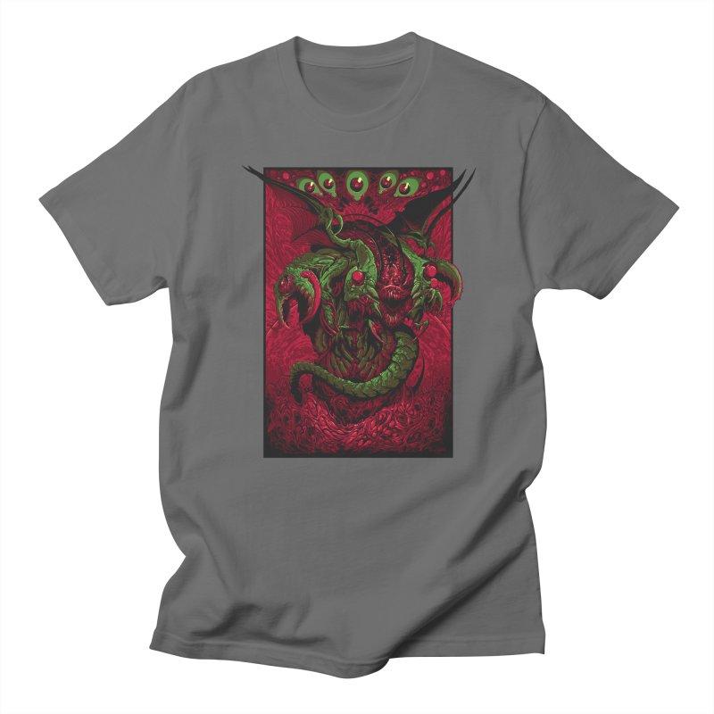 Pure Evil in Men's Regular T-Shirt Asphalt by brockhofer's Artist Shop