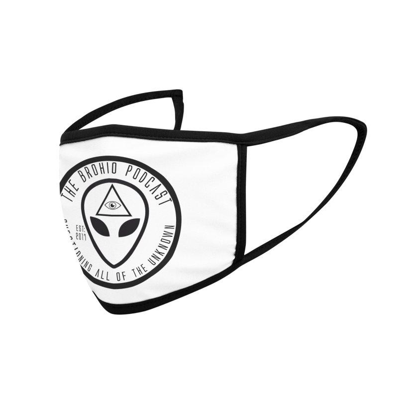 Brohio Alien Accessories Face Mask by Brohio Merch