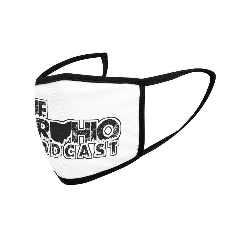 Brohio Podcast Outline Accessories Face Mask by Brohio Merch