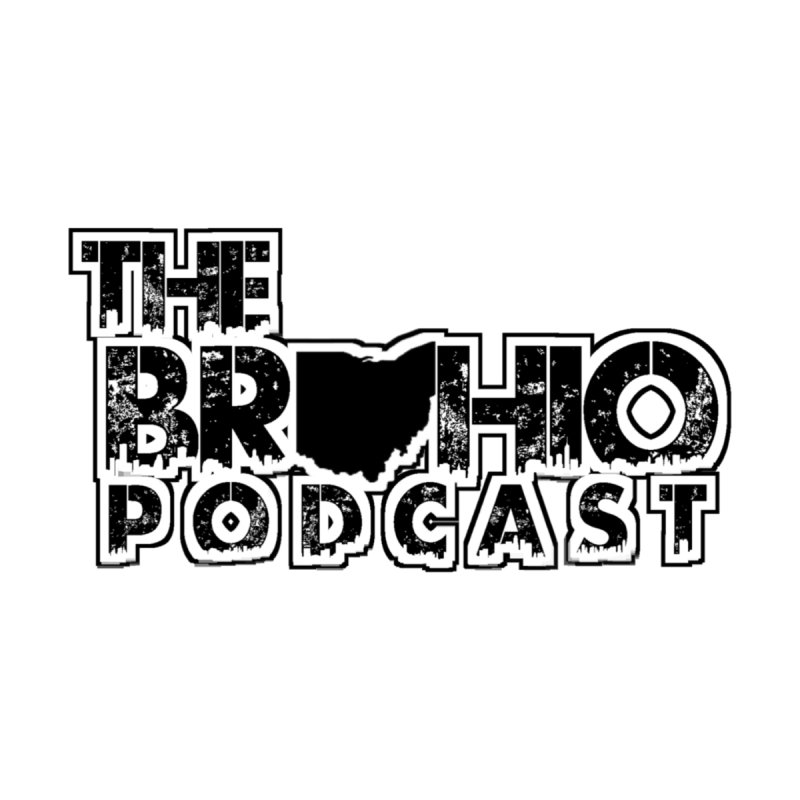 Brohio Podcast Outline Women's Longsleeve T-Shirt by Brohio Merch