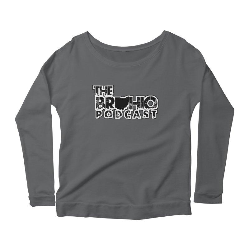 Brohio Podcast Outline Women's Longsleeve T-Shirt by Brohio Merch
