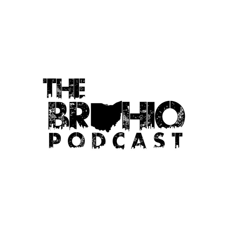 Brohio Logo, Text only. Men's T-Shirt by Brohio Merch