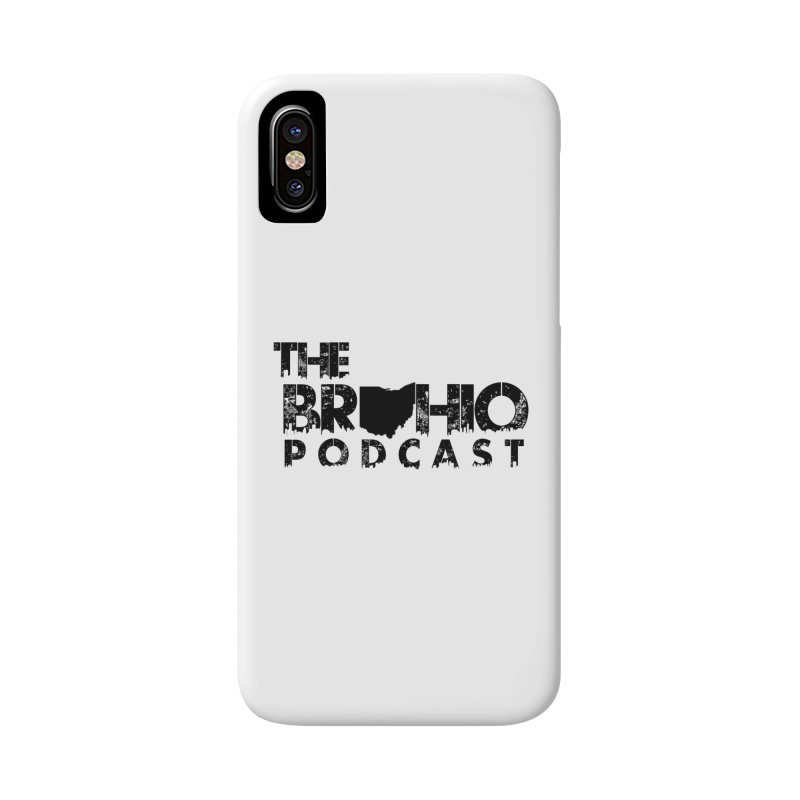 Brohio Logo, Text only. Accessories Phone Case by Brohio Merch