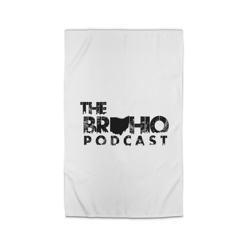 Brohio Logo, Text only. Home Rug by Brohio Merch