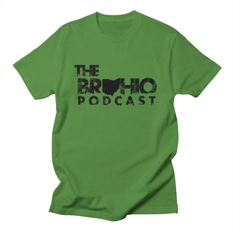 Brohio Logo, Text only. Women's Regular Unisex T-Shirt by Brohio Merch