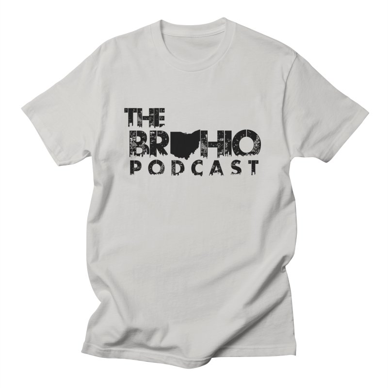 Brohio Logo, Text only. Women's Regular Unisex T-Shirt by Brohio Merch