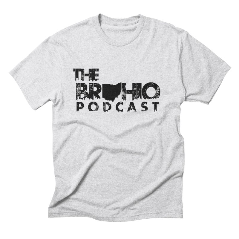 Brohio Logo, Text only. Men's Triblend T-Shirt by Brohio Merch