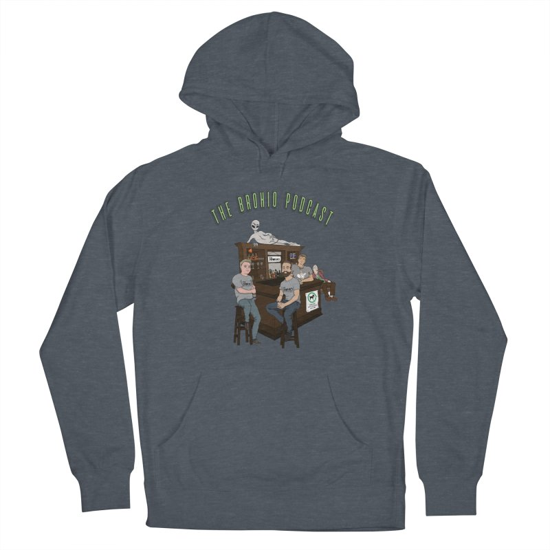 Carton with text Women's French Terry Pullover Hoody by Brohio Merch