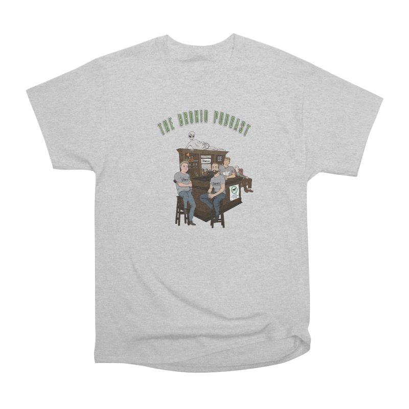Carton with text Men's Heavyweight T-Shirt by Brohio Merch