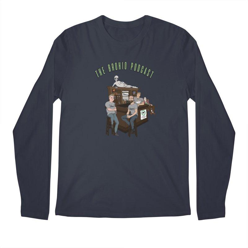 Carton with text Men's Regular Longsleeve T-Shirt by Brohio Merch