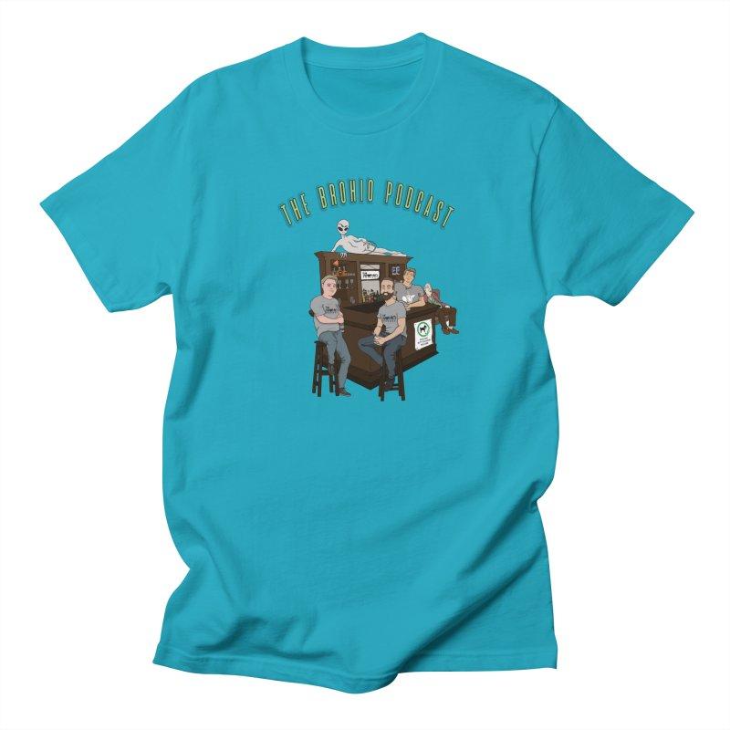 Carton with text Men's Regular T-Shirt by Brohio Merch