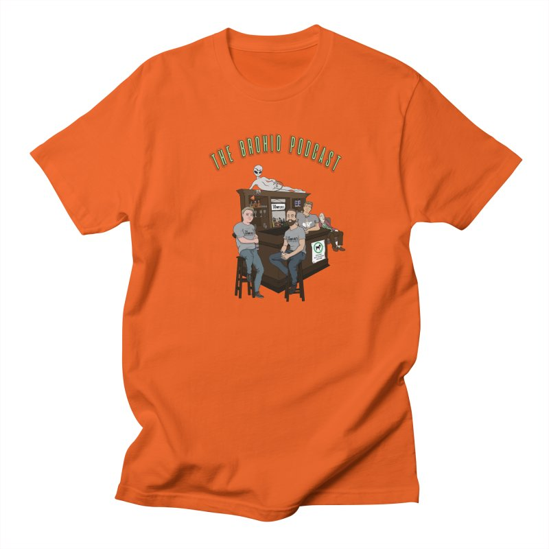 Carton with text Men's T-Shirt by Brohio Merch