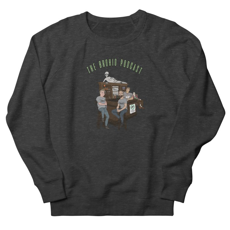 Carton with text Women's French Terry Sweatshirt by Brohio Merch