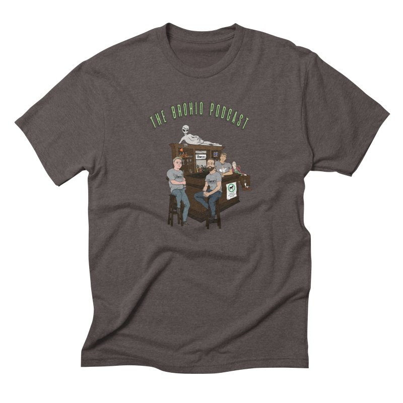 Carton with text Men's Triblend T-Shirt by Brohio Merch