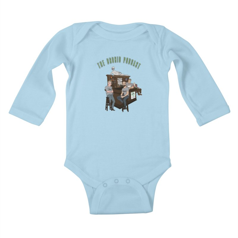 Carton with text Kids Baby Longsleeve Bodysuit by Brohio Merch