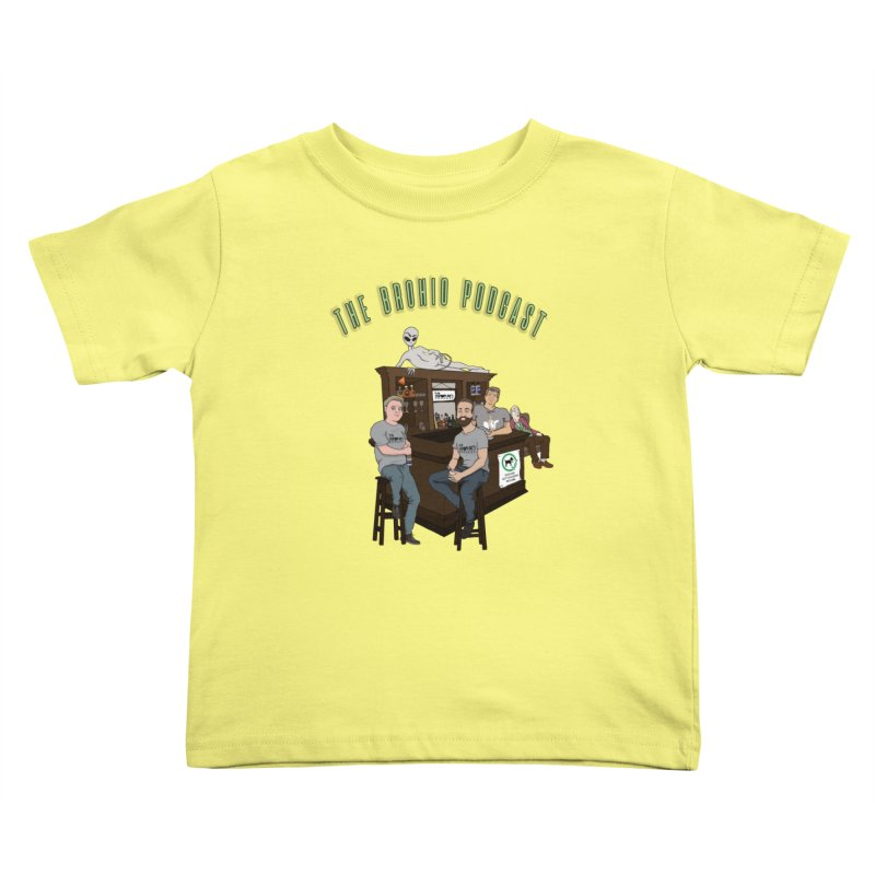 Carton with text Kids Toddler T-Shirt by Brohio Merch