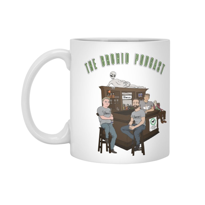 Carton with text Accessories Standard Mug by Brohio Merch