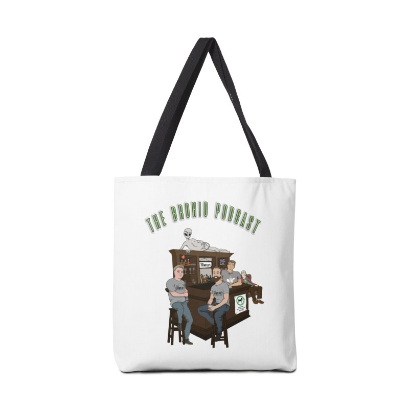 Carton with text Accessories Tote Bag Bag by Brohio Merch